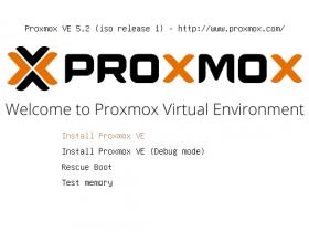 Proxmox VE 5.2安装图文教程
